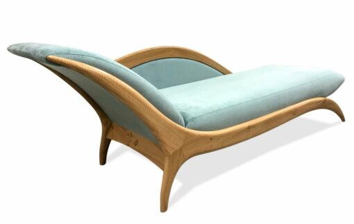 Sues Chaise Lounge Blue Velvet 2