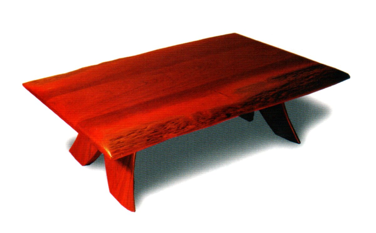 Natural Edge Coffee Table Fine Art