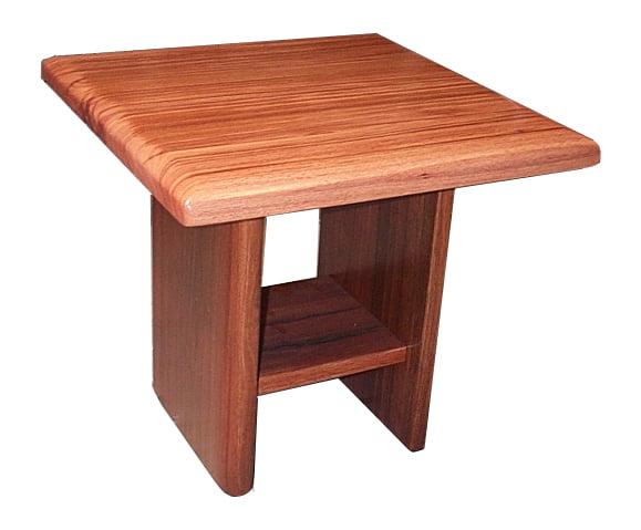 Slab Jarrah Lamp Table Fine Art