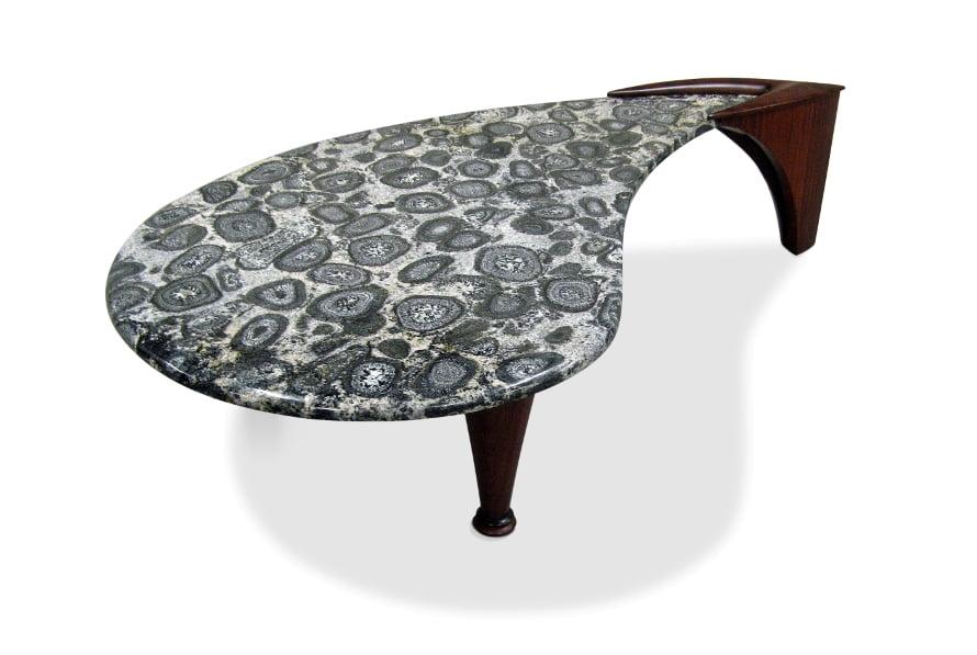 Hunt Orbicular Coffee Table Fine Art