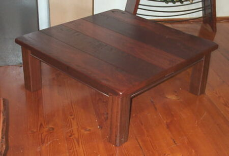 Table Coffee Homesteader Square Rustic