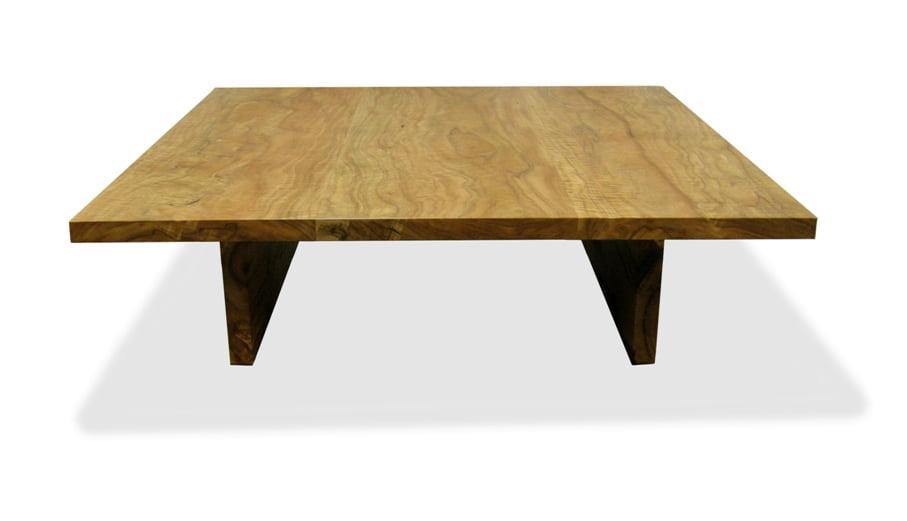 Slab Square Marri Coffee Table Fine Art