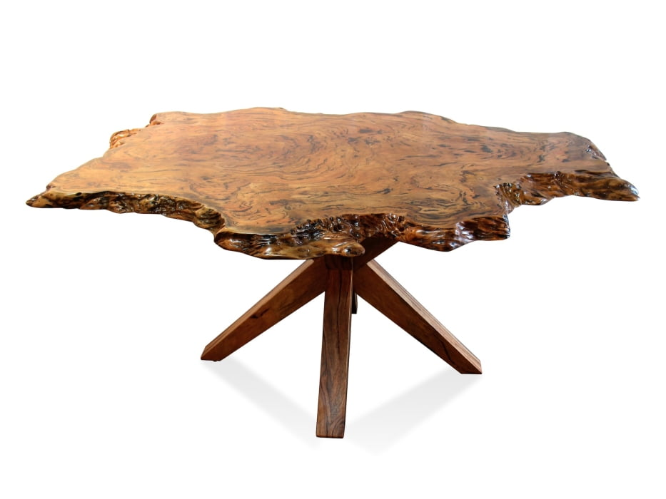 Marri Burl Dining Table Fine Art