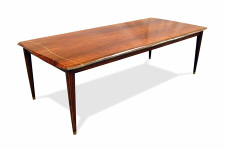 Table Dining Silhouette Solid Jarrah Top With Pinline Legs St 236 002