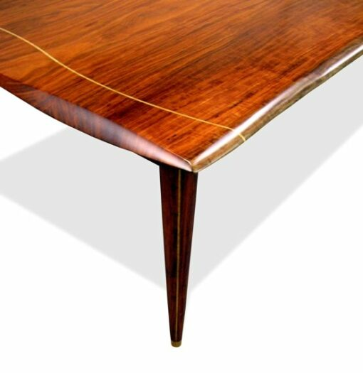 Table Dining Silhouette Solid Jarrah Top With Pinline Legs St 236 005