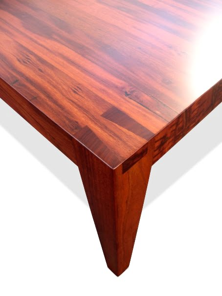 Table Dining The Block With Dovetail Detail