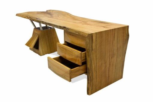 Tan Desk Open