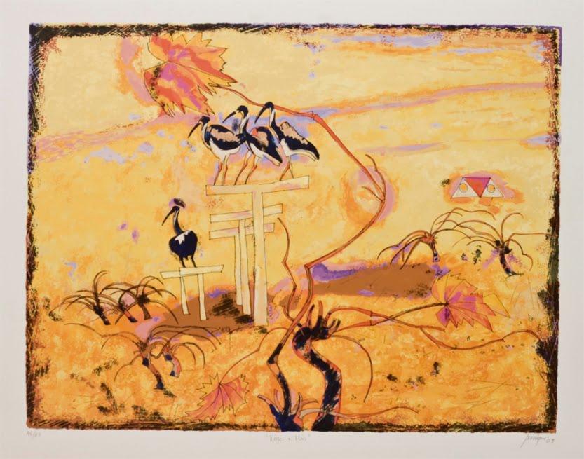 Robert Juniper   Vine + Ibis Fine Art