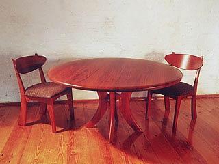 Jarrah Spere Table Murchison Chairs