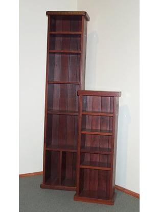 Nook Bookcases Tall Jarrah Timber