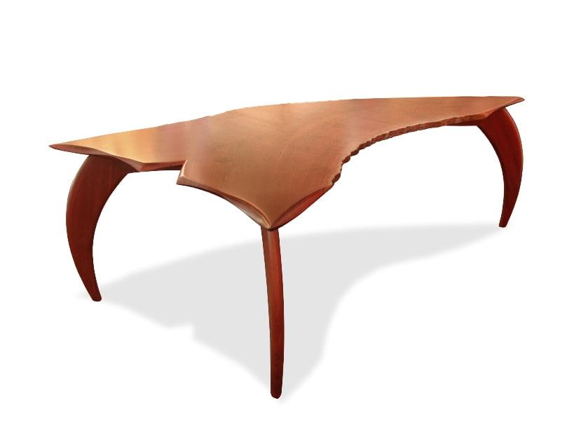 Scorpio Modern Jarrah Desk Fine Art