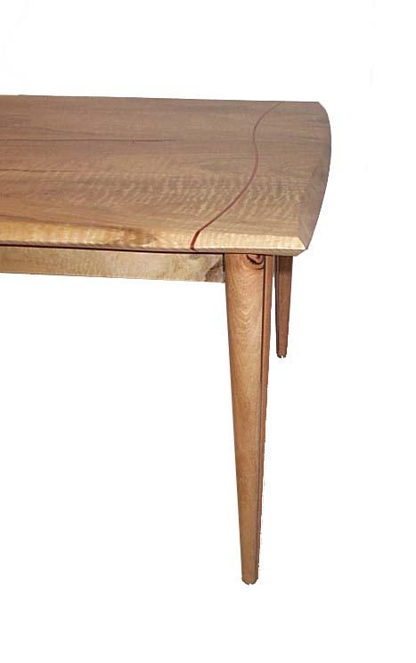 Silhouette Dining Table End Detail Marri Lara