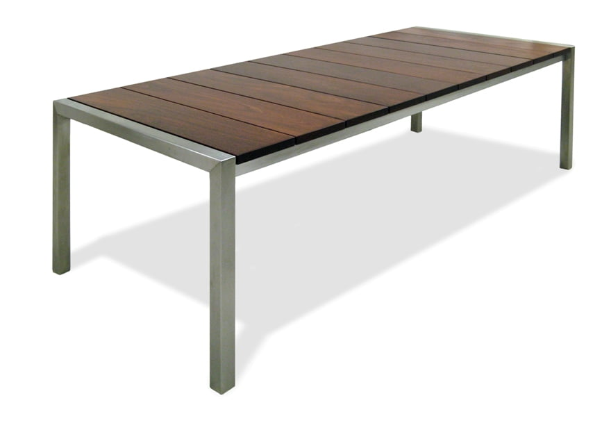 Jetty Jarrah Outdoor Dining Table Fine Art