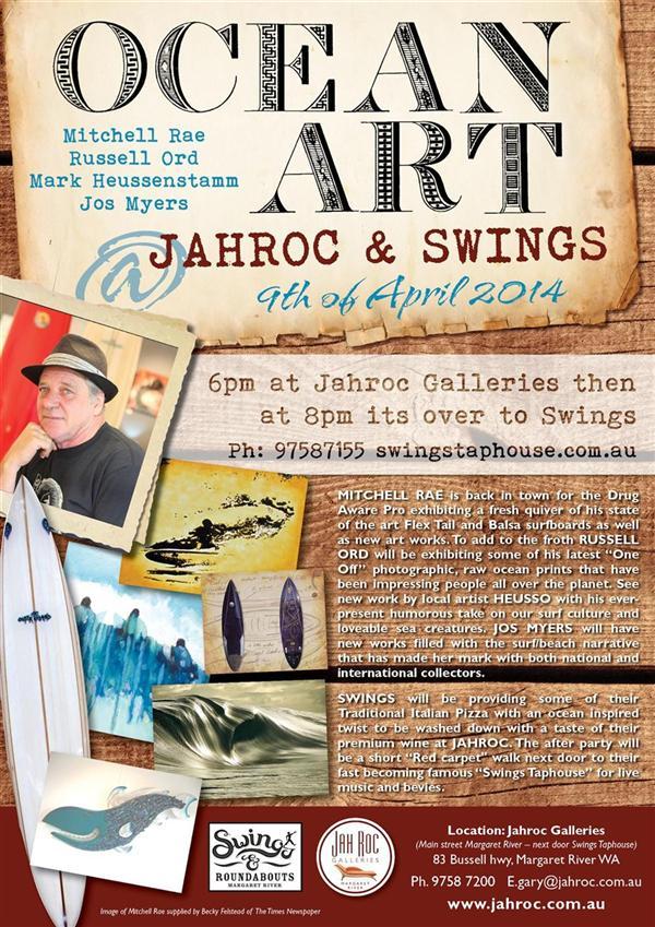 OCEAN ART @ JAHROC   Last 2 Days to view Fine Art