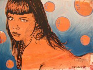 Db121 Orange Bubbles 120X90Cm From Blog