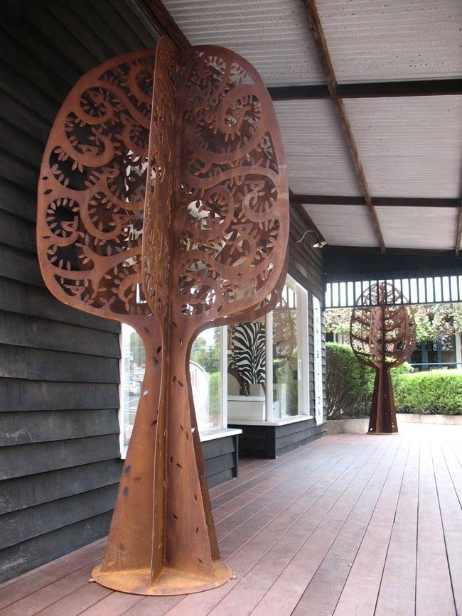 Janine Daddo Trees On Verandah Margaret River Australia Art Gallery