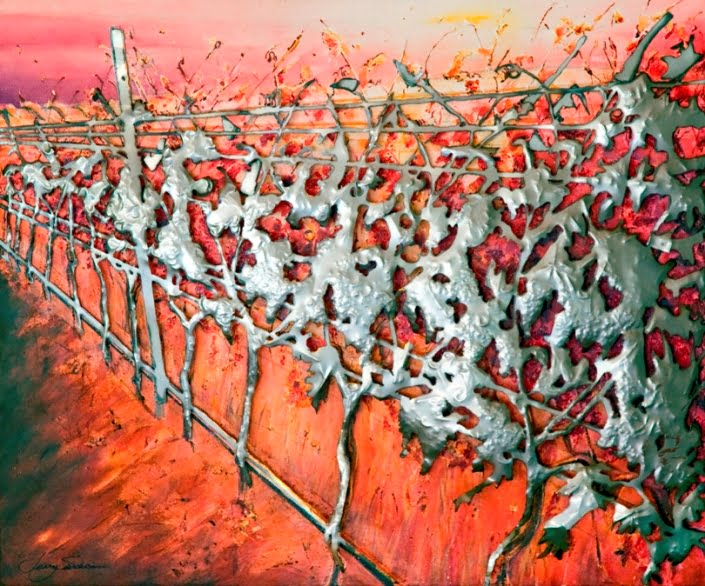 Jenny Sanderson   Perspective in the Vines Fine Art