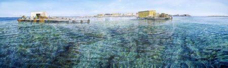 Larry Mitchell Basilli Island 300cmx90cm