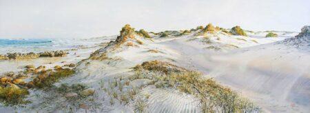 Larry Mitchell Cobblestones 244x92cm
