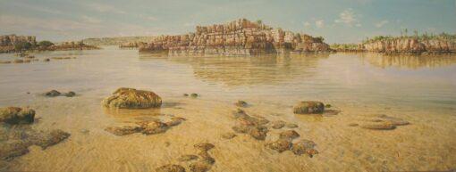 Larry Mitchell Drysdale River 240x90cm