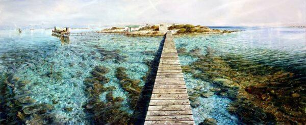 Larry Mitchell Mangrove Island Abrolhos 3M X 1 2M