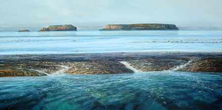 Larry Mitchell Montgomery Reef 240x120cm