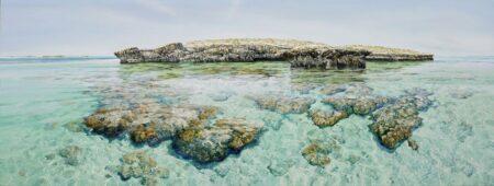 Larry Mitchell Pilbara Island 2 250x90cm