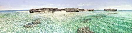 Larry Mitchell Pilbara Island 3 6mx90cm