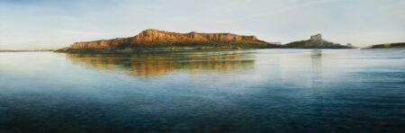 Larry Mitchell West Kimberley Morning 273cm X 92cm