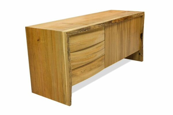 Tan Credenza From Left
