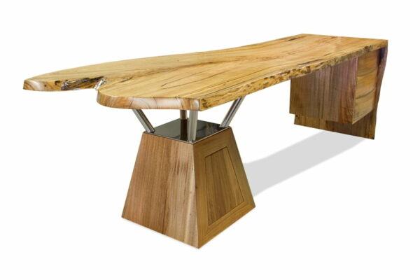 Tan Desk