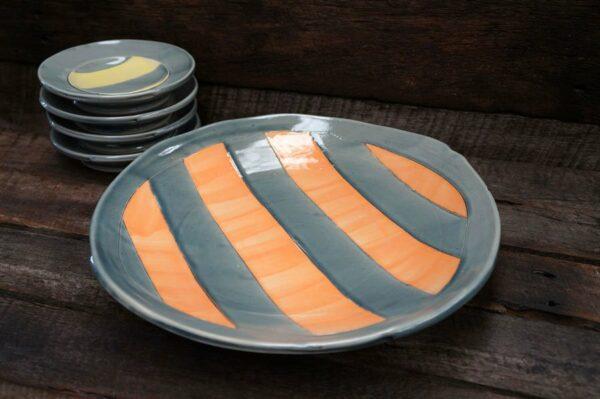 Tony Wise Pottery Plates