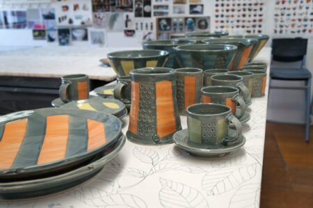 Tony Wise Pottery Collection