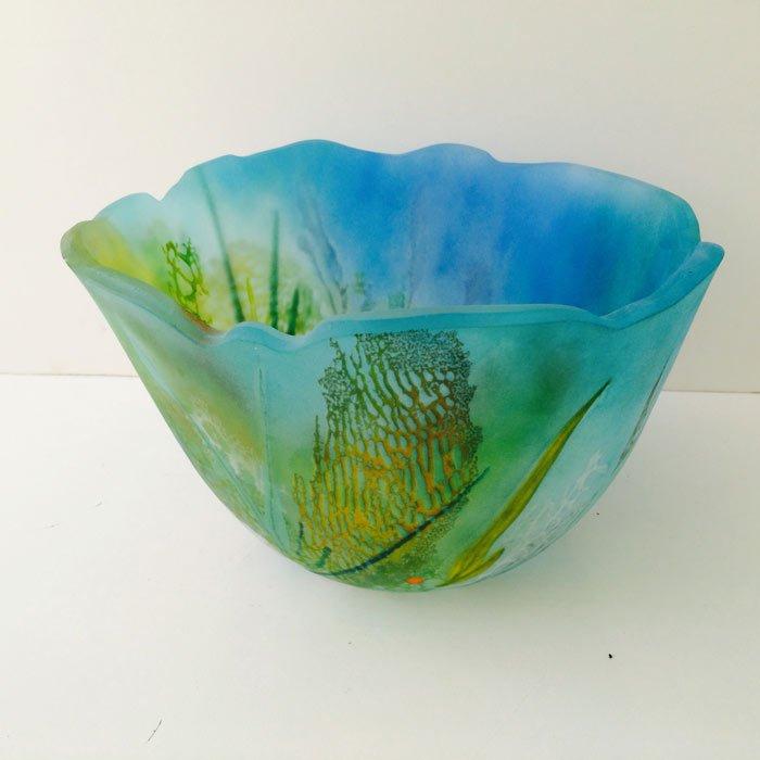 Vivienne Jagger   Seabed Glass Bowl Fine Art