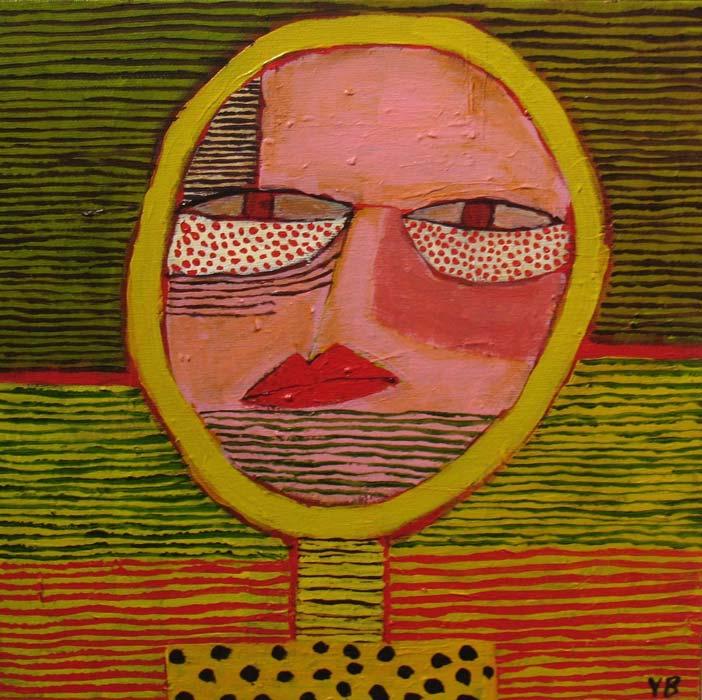 Yolande Barker Small Head 30X30Cm