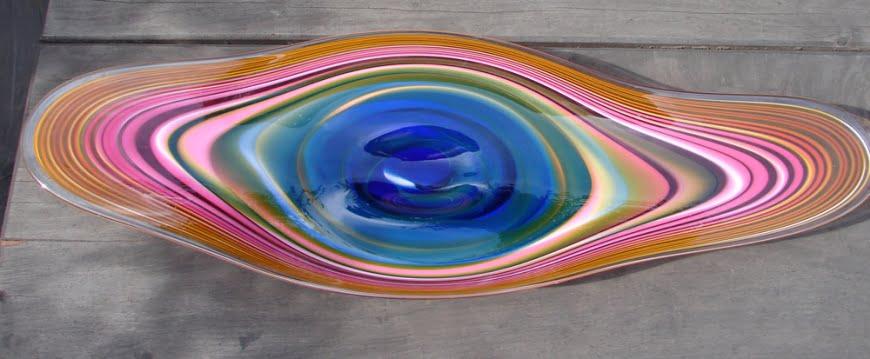 Coolafugal Platter pink/blue