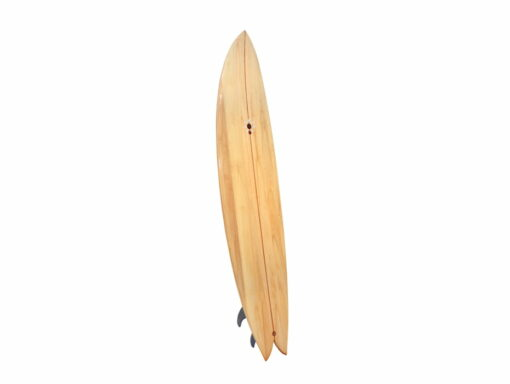 72 Fish Hybrid Wooden Surfboard Front