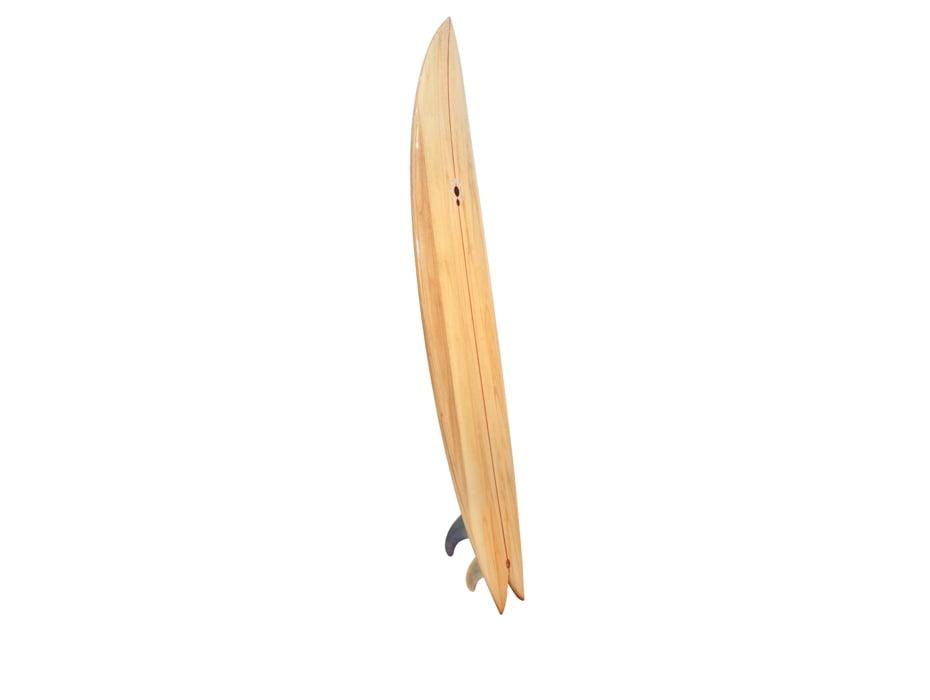 72 Fish Hybrid Wooden Surfboard Side