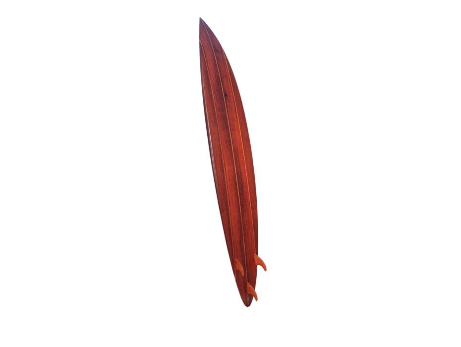 9 Solid Jarrah Gun Surfboard