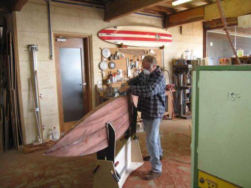 9Ft Gun Surfboard Jim Shaping