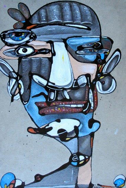 Anthony Breslin   Anchor Men but Blue Briefcases Fine Art