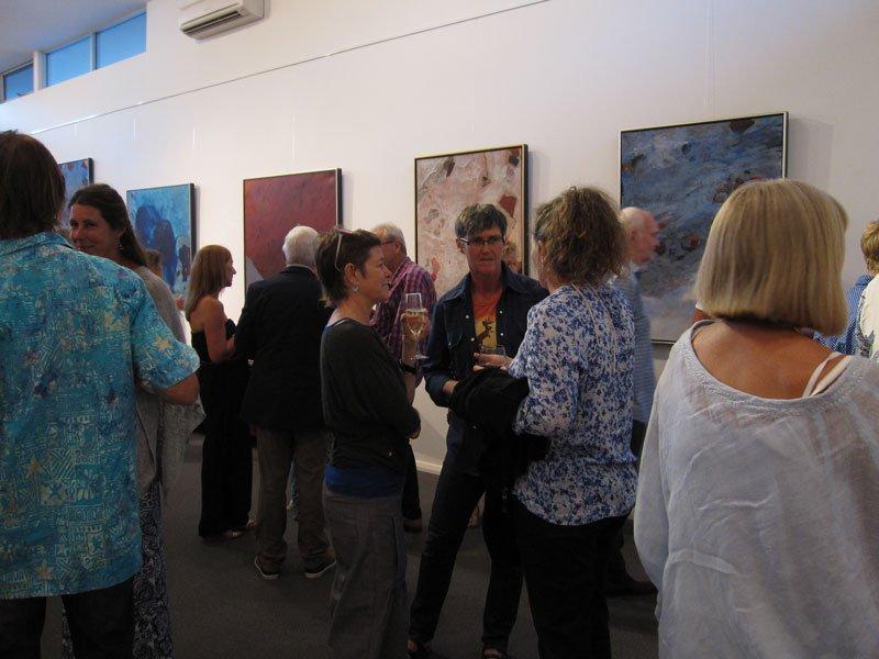 Bec Juniper Exhibition Opening Night 10