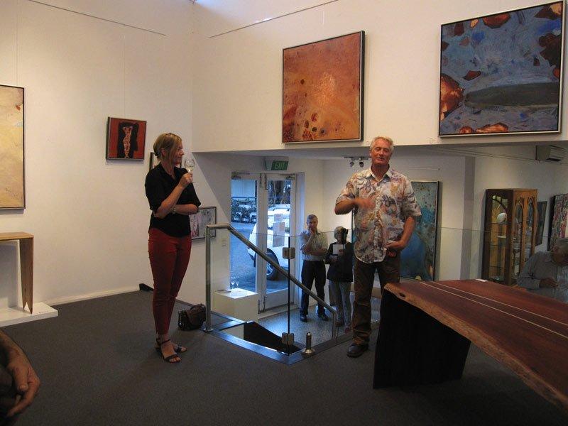 Bec Juniper Exhibition Opening Night 12