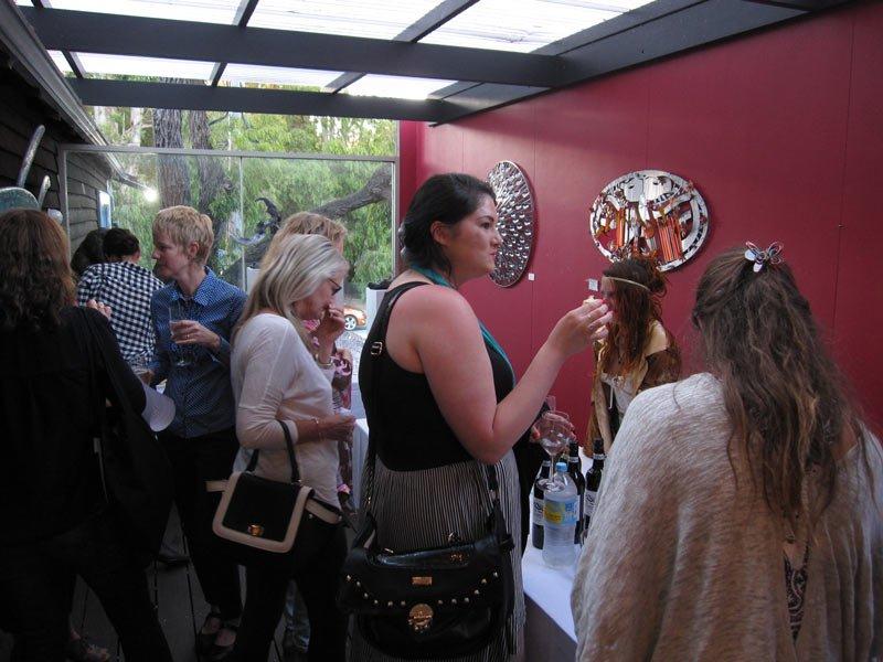 Bec Juniper Exhibition Opening Night 13