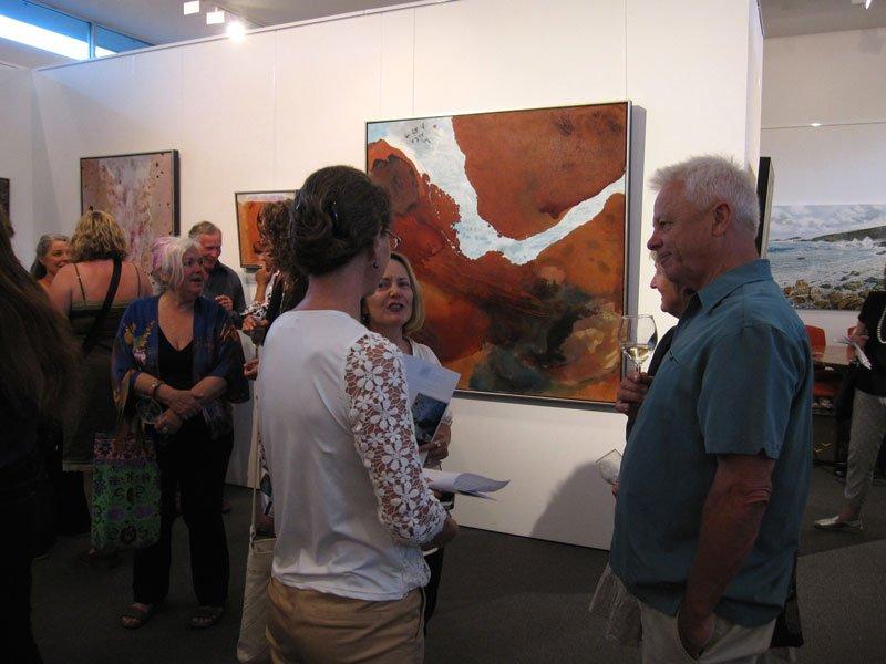 Bec Juniper Exhibition Opening Night 14