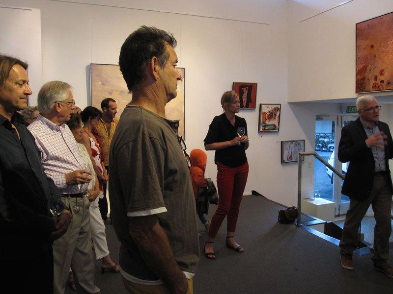 Bec Juniper Exhibition Opening Night 22