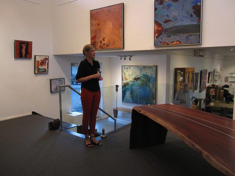 Bec Juniper Exhibition Opening Night 3