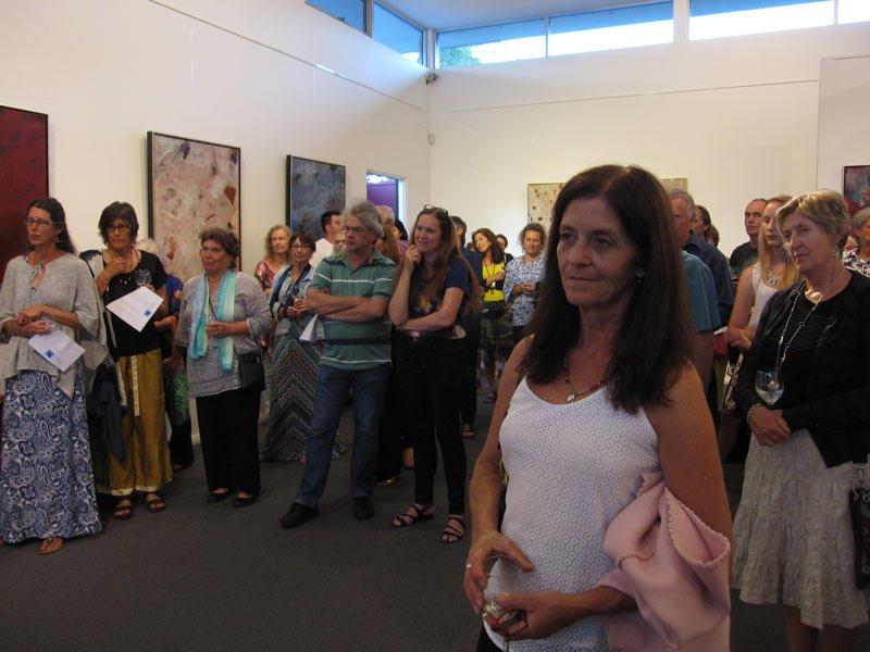 Bec Juniper Exhibition Opening Night 4