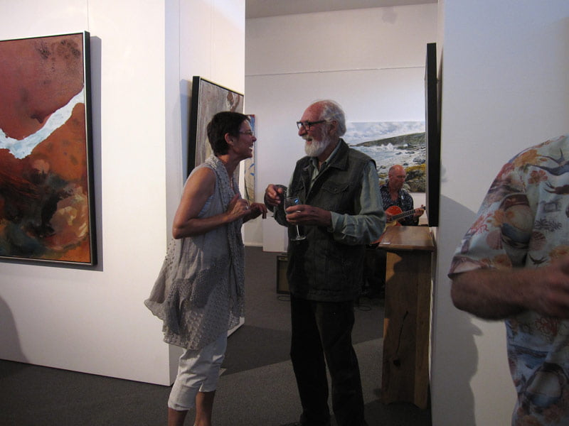 Bec Juniper Exhibition Opening Night 9