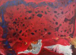 Bec Juniper   Rose Interior & Matisses Snail Fine Art
